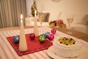クリスマスの食卓の素材 [FYI01143859]