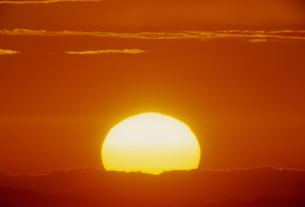 夕日の素材 [FYI01143950]