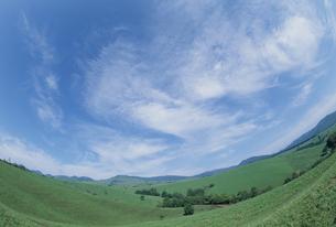 高原と青空の素材 [FYI01144116]