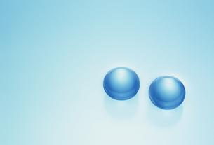 ふたつの球の素材 [FYI01144214]