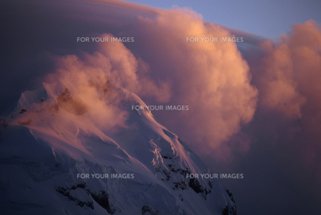 雪山の素材 [FYI01144925]