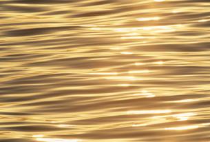 夕日に光る海面の素材 [FYI01145502]