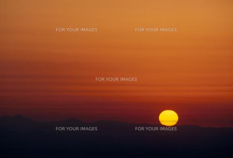 夕日の素材 [FYI01145573]