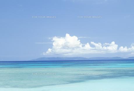 沖縄の海と空の素材 [FYI01145597]