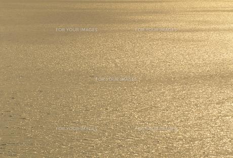 夕日に光る海面の素材 [FYI01145704]