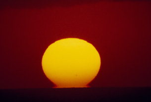 夕日の素材 [FYI01145779]