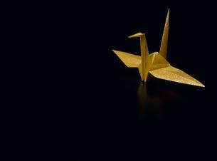 折り鶴の素材 [FYI01145937]