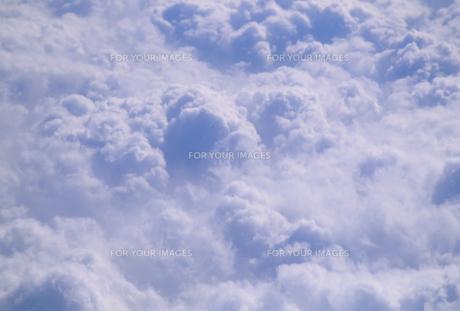 機上から見た雲海の素材 [FYI01146107]