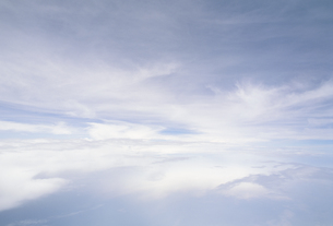 機上から見た雲の素材 [FYI01146127]