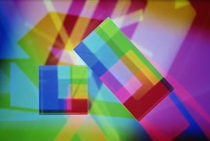 四角のクリスタルの素材 [FYI01146219]