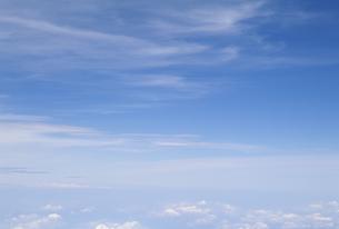 機上から見た雲と空の素材 [FYI01146238]
