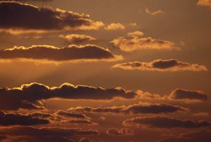 夕景の雲の素材 [FYI01146245]