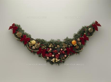 クリスマスリースの素材 [FYI01146391]