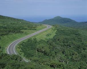 道イメージ 知床横断道路の素材 [FYI01146492]