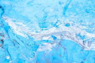 氷の表面の素材 [FYI01146702]