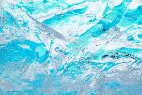 氷の表面の素材 [FYI01146703]