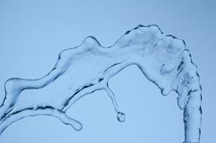 空中を飛ぶ水の素材 [FYI01146725]