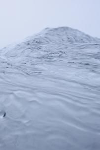 空中に飛ぶ水の表面の素材 [FYI01146808]