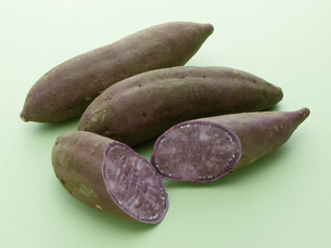 紫芋の素材 [FYI01150412]