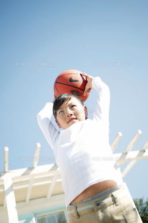 バスケットボールの素材 [FYI01152576]
