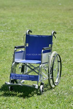 車椅子の素材 [FYI01152763]