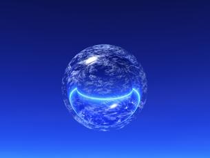 光る球体と線 CGの素材 [FYI01153827]