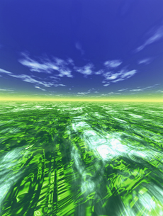 水平線イメージ  CGの素材 [FYI01153835]