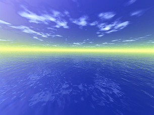 水平線イメージ  CGの素材 [FYI01153854]