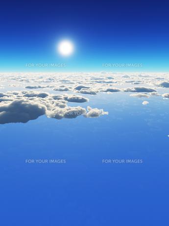 空と雲の素材 [FYI01153973]