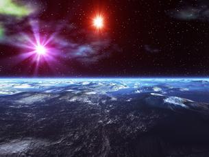 惑星の地形の素材 [FYI01153978]