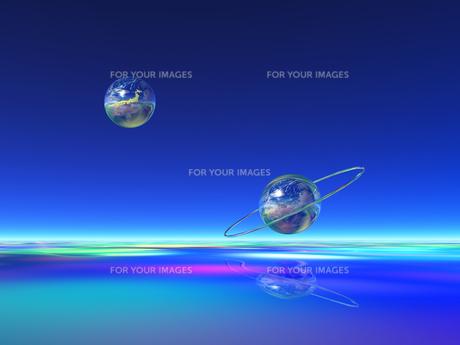 地球 CGの素材 [FYI01153993]