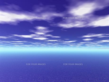 水平線イメージ  CGの素材 [FYI01154015]