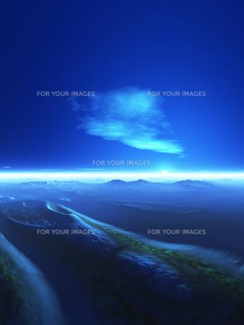 海と島と空の素材 [FYI01154016]