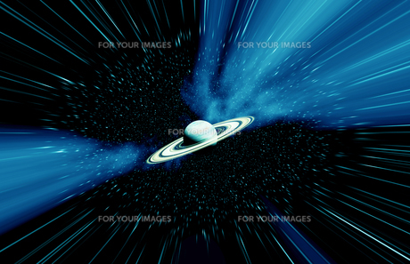 リング惑星と宇宙の素材 [FYI01154027]