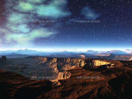 アリゾナの大地のイメージ CGの素材 [FYI01154034]