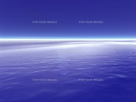 水平線イメージ  CGの素材 [FYI01154036]
