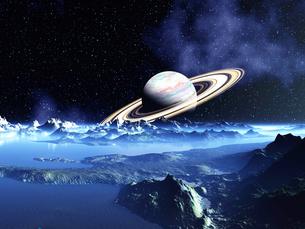 ドーナツ惑星と無限惑星の素材 [FYI01154050]