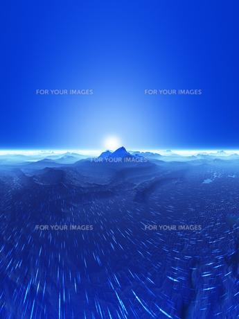 惑星の地形と光の素材 [FYI01154060]