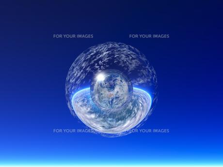 光る球体 CGの素材 [FYI01154064]