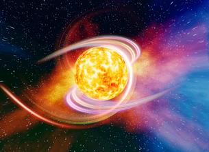 惑星膨張の素材 [FYI01154102]