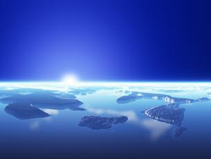 海と島と空の素材 [FYI01154117]