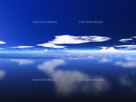 空と雲と海の素材 [FYI01154123]