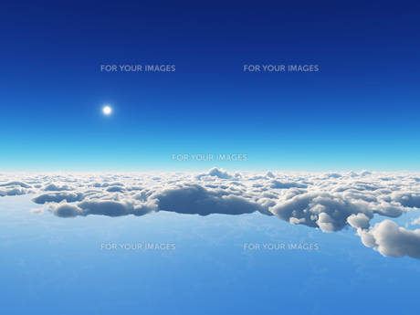 空と雲の素材 [FYI01154131]