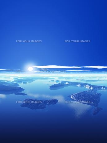 海と島と空の素材 [FYI01154136]