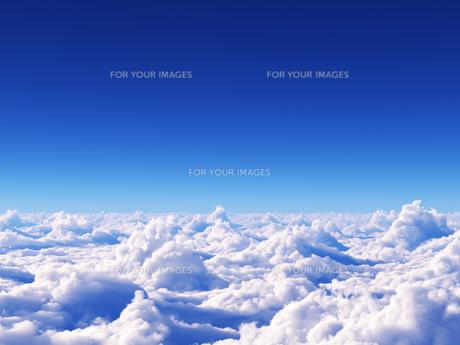 空と雲と海の素材 [FYI01154143]