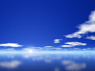 海と空と雲の素材 [FYI01154148]