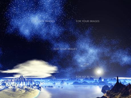 銀河の彼方の素材 [FYI01154156]