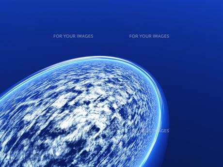 大気と球体の素材 [FYI01154159]