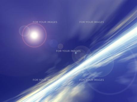 光のイメージ CGの素材 [FYI01154169]