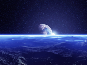 惑星と太陽の素材 [FYI01154170]